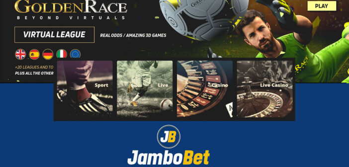Awesome Jambobet online sport betting application in Kenya